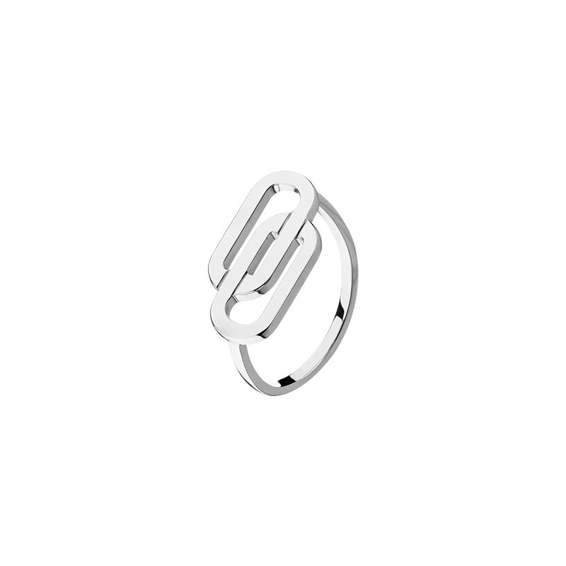 Bague So Shocking Lucky in Love grand modèle en or blanc