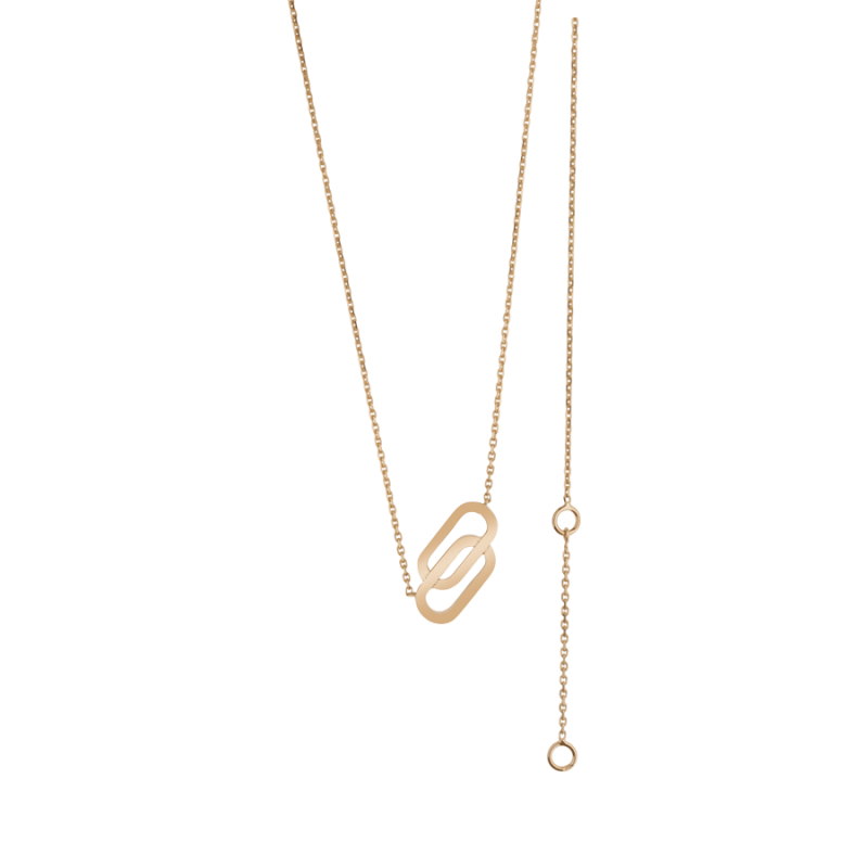 Collier So Shocking Lucky in Love en or rose