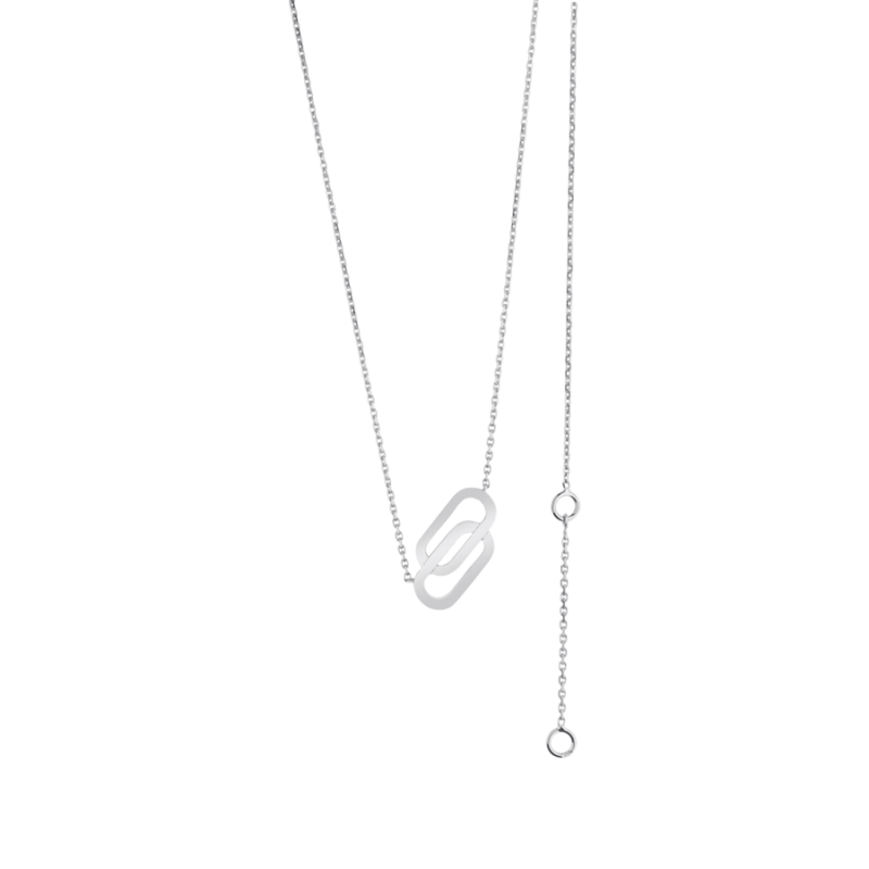 Collier So Shocking Lucky in Love en or blanc