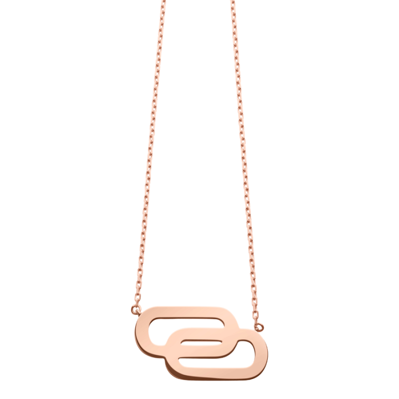 Collier So Shocking Lucky in Love grand modèle en or rose
