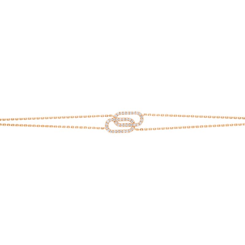 Bracelet So Shocking Lucky in Love en or rose et diamants