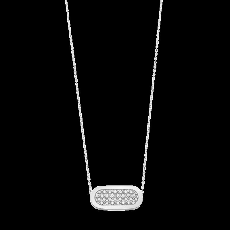 Collier So Shocking Primavera en or blanc et diamants