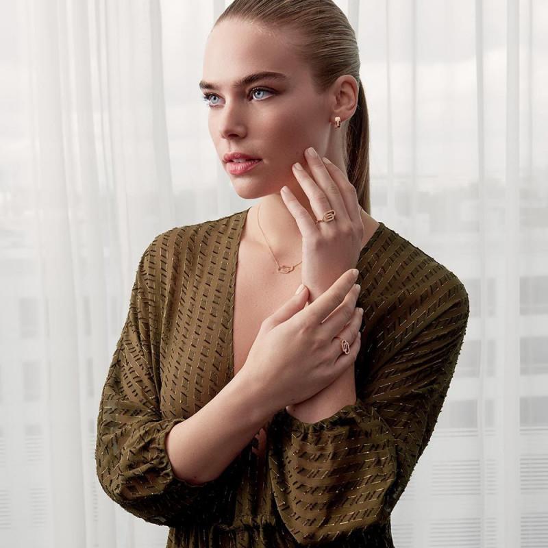 Collier So Shocking Lucky in Love grand modèle en or blanc et diamants