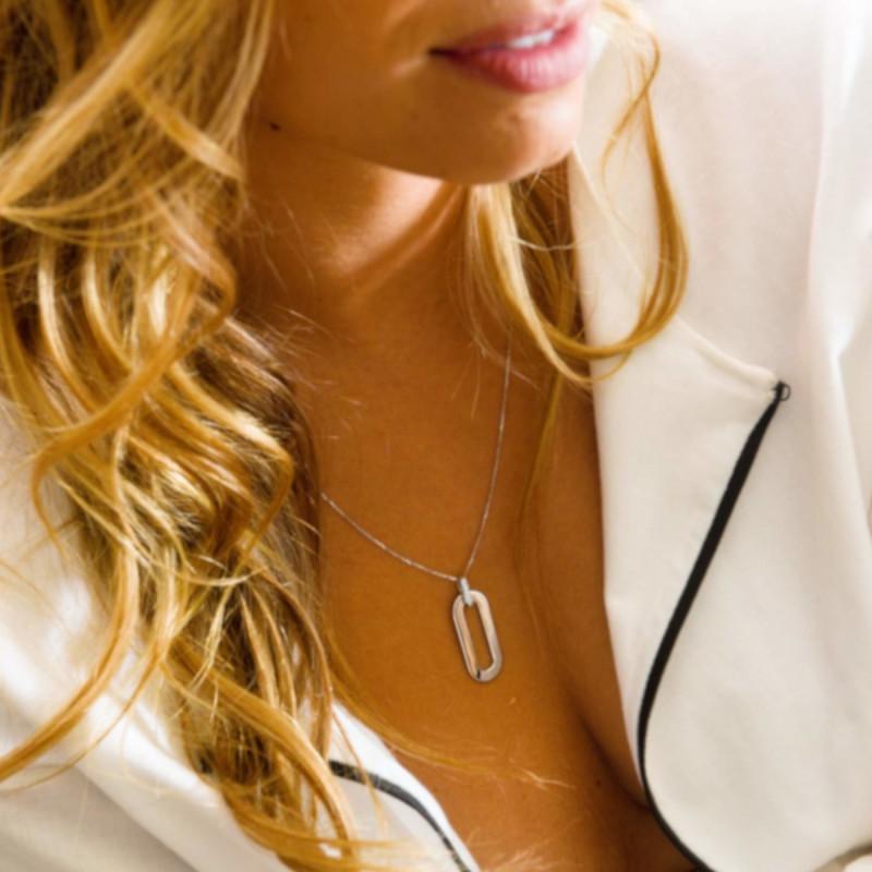 Collier So Shocking Origine en or blanc et diamants